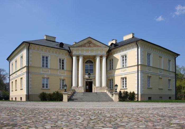 Herb Pałac w Dobrzycy