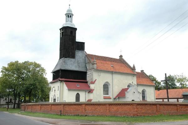 Herb Kościół pw. Wszystkich Świętych w Mórkowie
