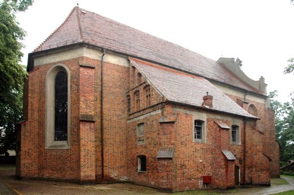 Herb Kościół pw. Świętej Trójcy w Nowym Mieście nad Wartą