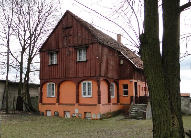 Budynek w Golęczewie wzorowany na domach tkaczy na Łużycach