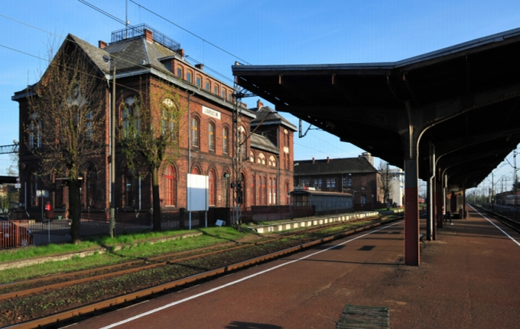 Herb Dworzec kolejowy w Jarocinie