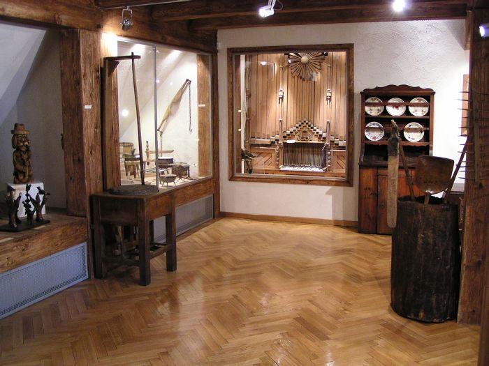 Fragment ekspozycji Muzeum Okręgowego w Lesznie