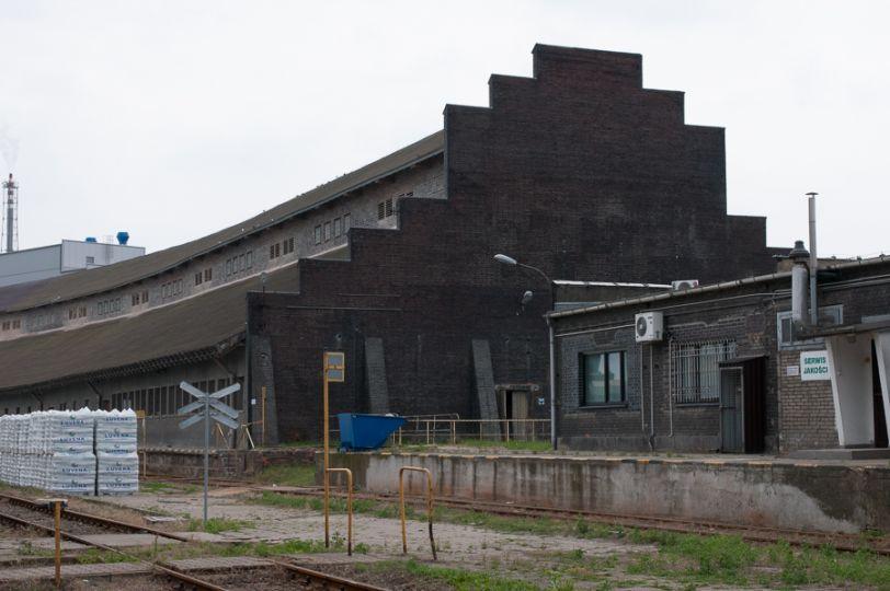Herb Zespół budynków fabryki chemicznej w Luboniu