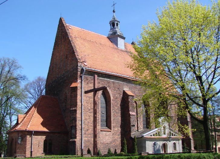 Herb Kościół pw. NMP Wniebowziętej w Ostrzeszowie