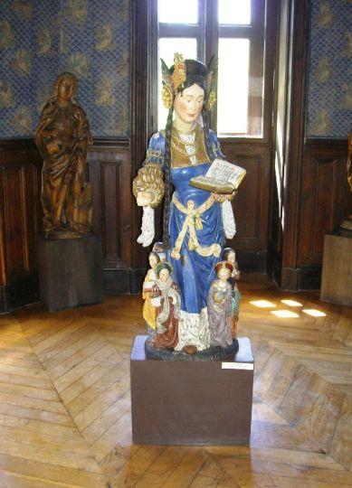 Fragment ekspozycji muzealnej w Gołuchowie