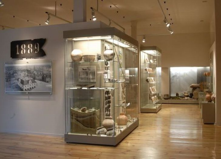 Ekspozycja w Muzeum Regionalnym w Jarocinie
