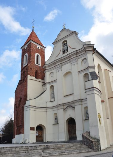 Herb Kościół klasztorny franciszkanów pw. Wniebowzięcia NMP i św. Antoniego w Gnieźnie