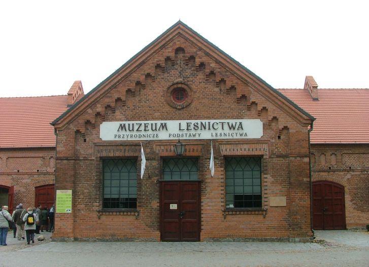 Herb Muzeum Leśnictwa w Gołuchowie
