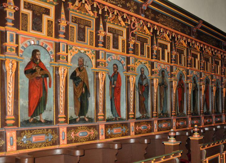 Kościół farny w Gostyniu - stalle