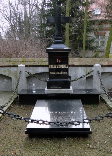 Grób Emilii Sczanieckiej w Michorzewie