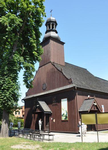 Herb Kościół pw. Wniebowzięcia NMP w Grzegorzewie