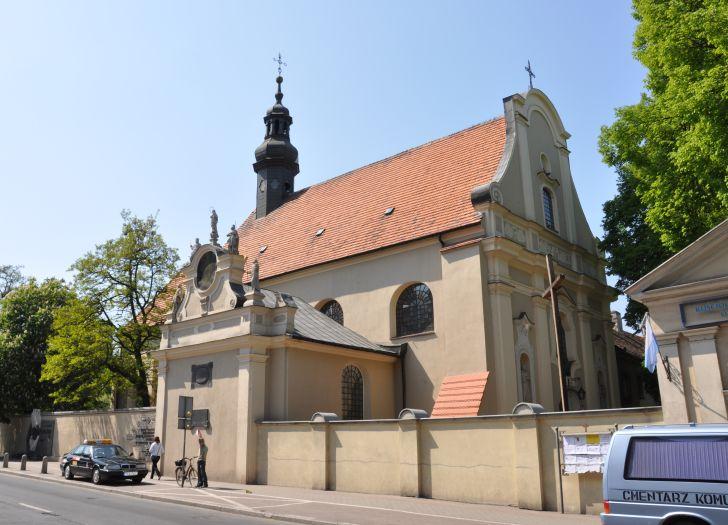Kościół klasztorny nazaretanek pw. Świętej Rodziny w Kaliszu