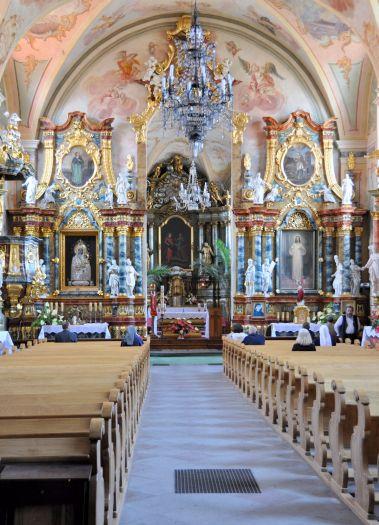 Kościół pobernardyński w Kaliszu- nawa główna