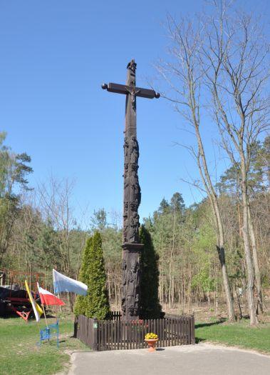 Krzyż Pawła Brylińskiego w Kani