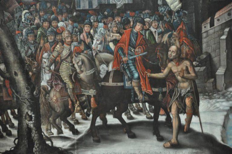 Fragment obrazu K. Boguszewskiego