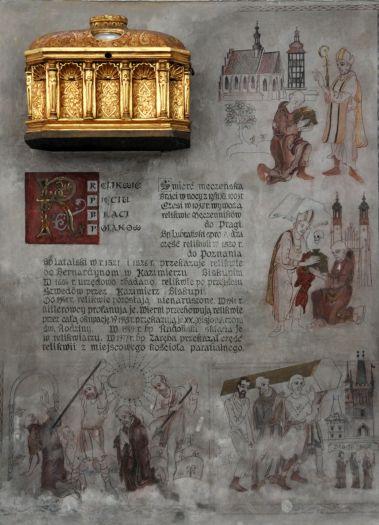 Relikwiarz Pięciu Braci Męczenników w Kazimierzu Biskupim
