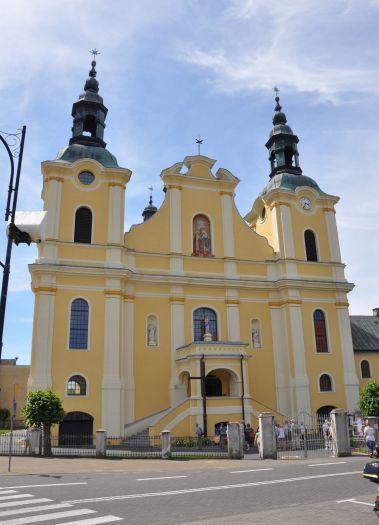 Herb Kościół klasztorny franciszkanów pw. Nawiedzenia NMP w Kole