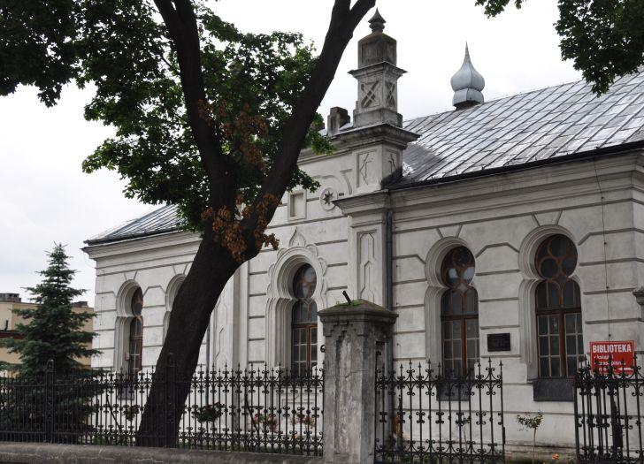 Herb Dawna synagoga w Koninie
