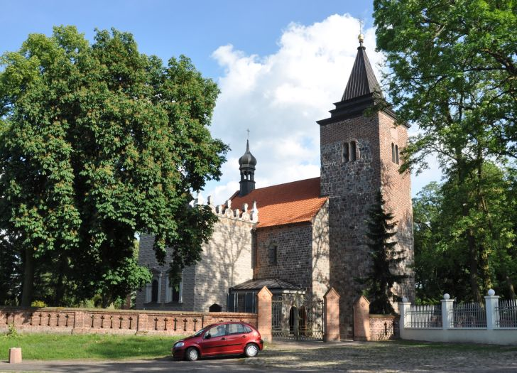 Herb Kościół pw. św. Małgorzaty w Kościelcu Kujawskim