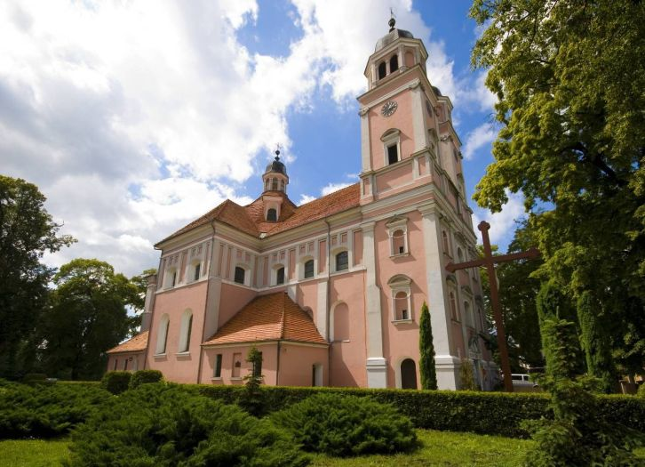 Herb Kościół pw. NMP Niepokalanie Poczętej w Sierakowie
