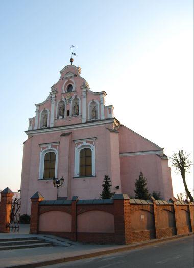 Kościół pw. św. Floriana widok od Rynku