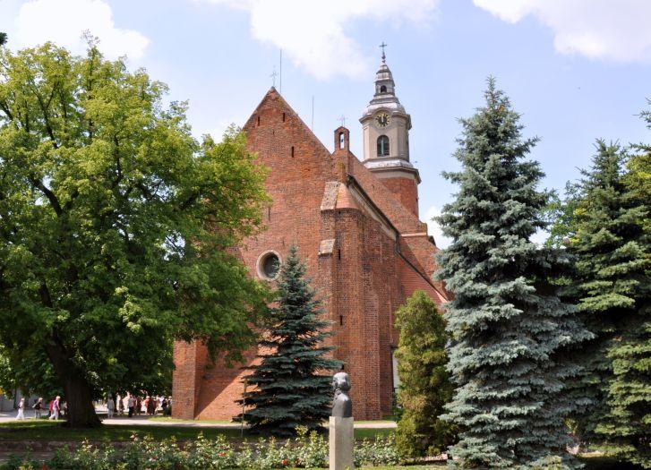 Herb Kościół pw. św. Floriana w Żninie