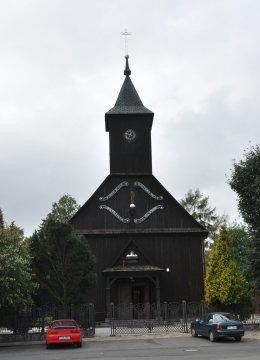 Herb Kościół pw. św. Tekli w Dobrzycy