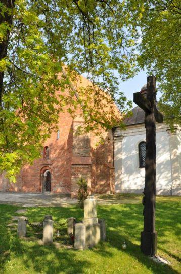 Widok od południa na kościół św. Jana Jerozolimskiego w Poznaniu