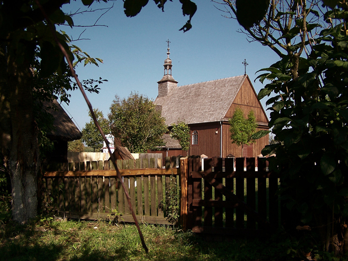 Kościół pw. śś. Anny i Wawrzyńca z Wartkowic koło Uniejowa