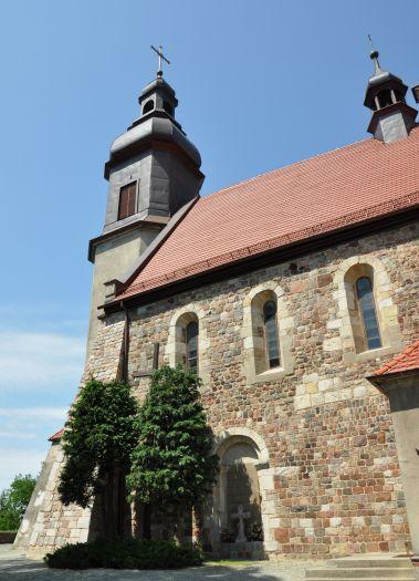 Herb Kościół pw. Narodzenia NMP w Kotłowie