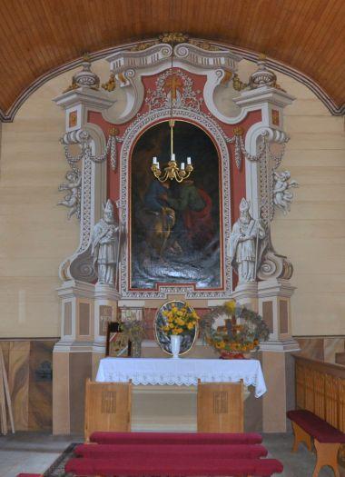 Kaplica boczna w kościele w Kowalewie Opactwo