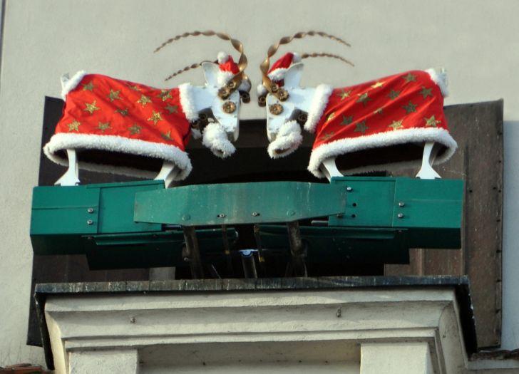 Poznańskie koziołki w okresie świątecznym