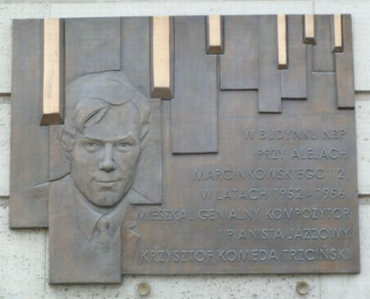 Herb Trzciński Krzysztof (Komeda) (1931-1969)
