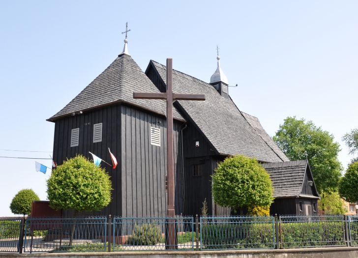 Herb Kościół pw. św. Bartłomieja w Kucharach