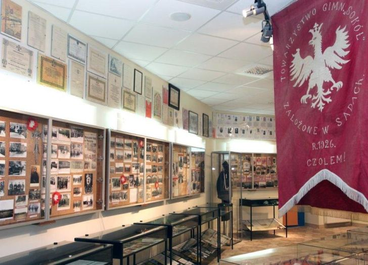 Fragment ekspozycji Muzeum Powstańców Wielkopolskich w Lusowie