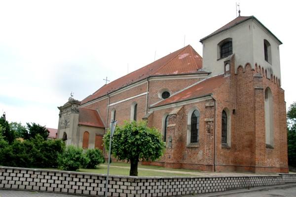 Herb Kościół pw. NMP Wniebowziętej, św. Jana Chrzciciela i św. Jana Ewangelisty w Lwówku