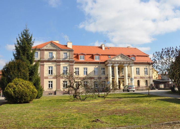 Herb Pałac w Lwówku