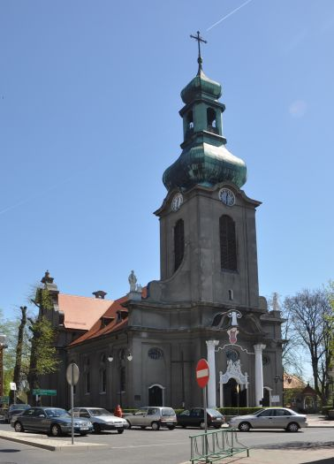Kościół farny w Mikstacie