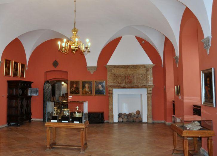 Sala królewska w Muzeum Historii Miasta Poznania