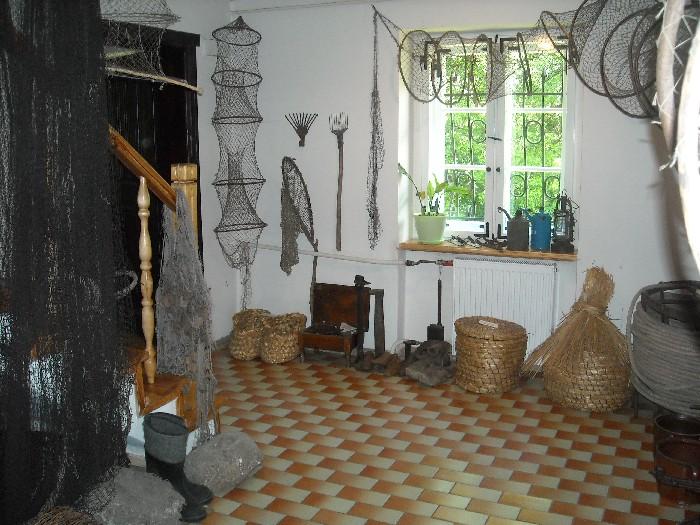 Muzeum Regionalne w Wągrowcu. Chata Rybaka - sień