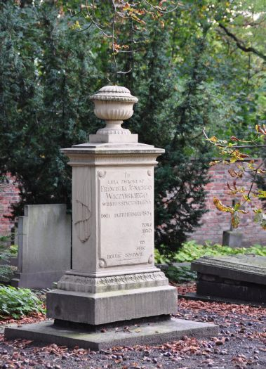 Na Cmentarzu Zasłużonych w Poznaniu