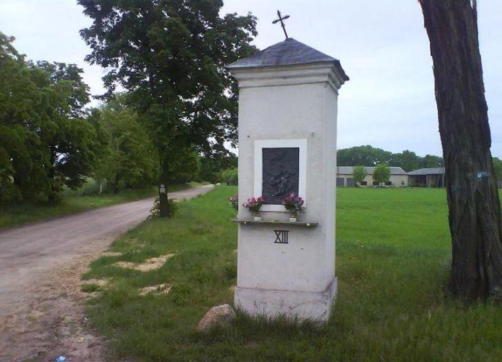 Jedna ze stacji Kopaszewskiej Drogi Krzyżowej