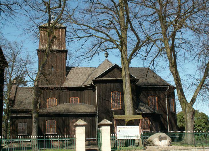 Kościół pw. św. Katarzyny i Niepokalanego Serca Maryi w Łękach Wielkich