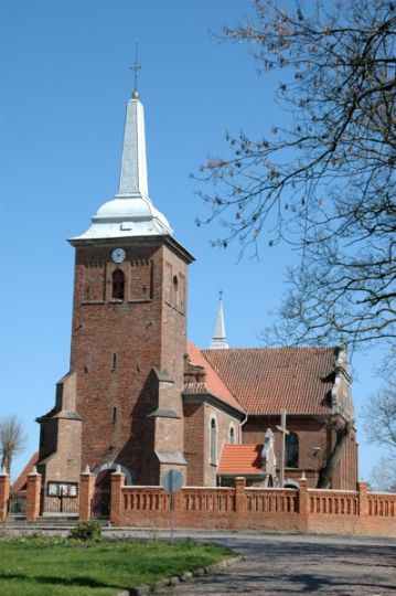 Herb Kościół pw. św. Bartłomieja w Objezierzu