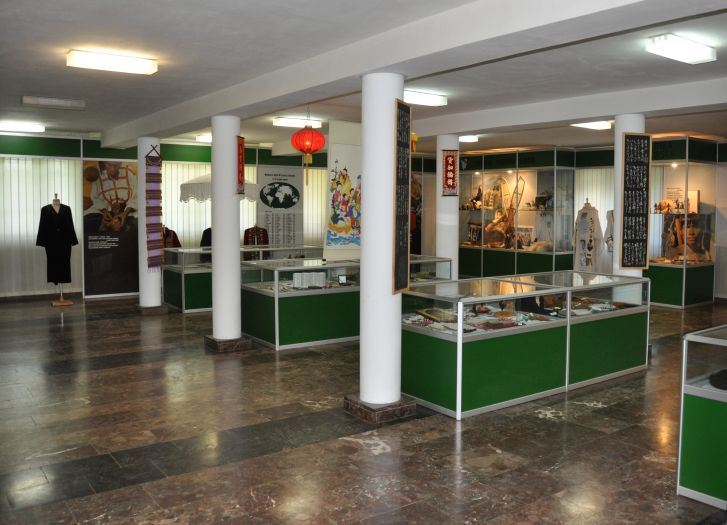 Muzeum etnograficzne w klasztorze w Obrze