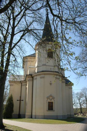 Kościół pw. św. Apostołów Piotra i Pawła w Obrzycku