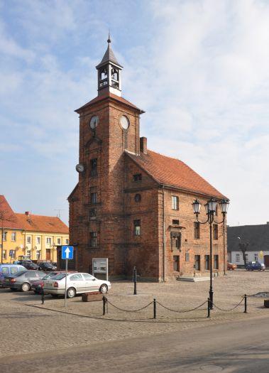 Herb Ratusz w Obrzycku