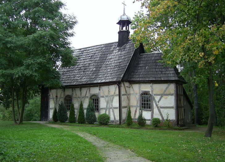 Herb Kościół pw. św. Wawrzyńca w Olszynie