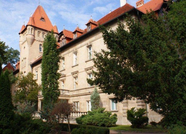 Herb Zamek w Osiecznej
