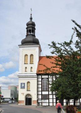 Herb Kościół pw. NMP Królowej Polski w Ostrowie Wielkopolskim